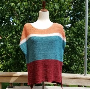 Loft Outlet Color Block Slouchy Sweater